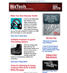 BizTech Newsletter Preview